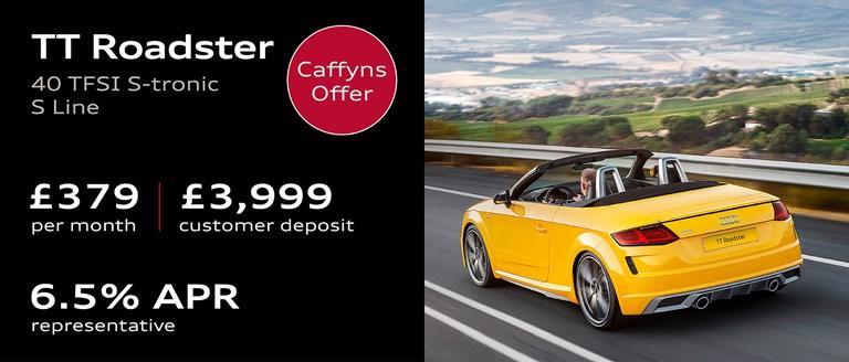 Caffyns Offer - Audi TT Roadster Finance Offer