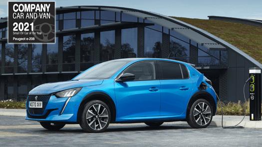 PEUGEOT wins at Company Car & Van Awards 2021