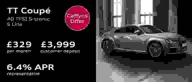 Caffyns Offer - Audi TT Coupé Finance Offer