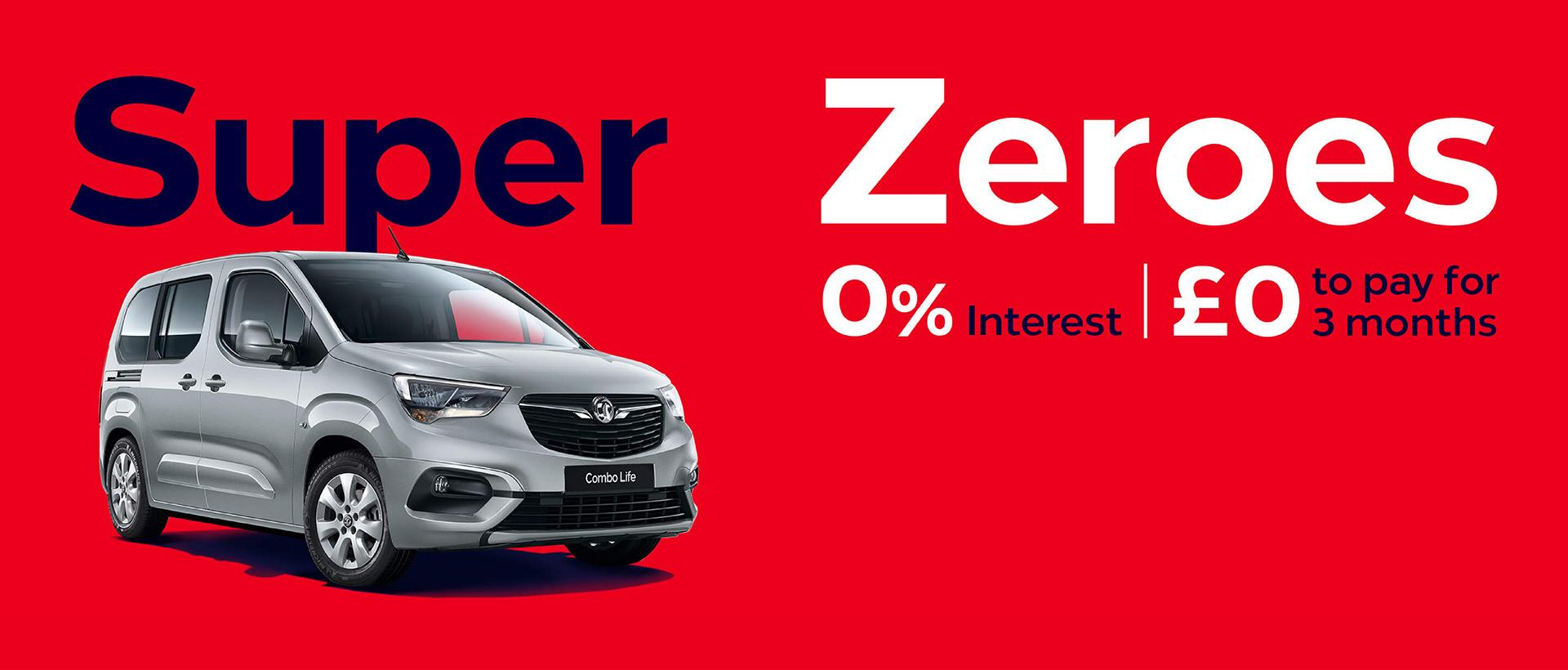 Vauxhall Combo Life Finance Offer