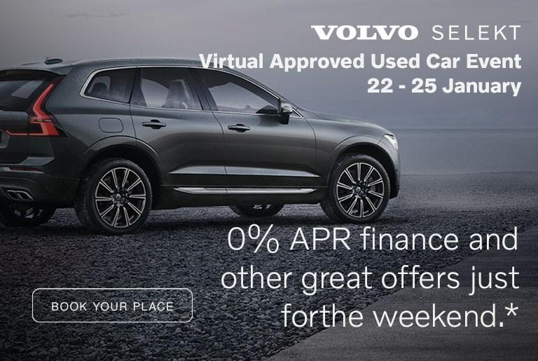 Volvo Selekt Approved Used Event