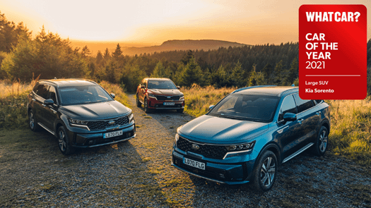 All-New Sorento wins 'Large SUV of the Year' 2021