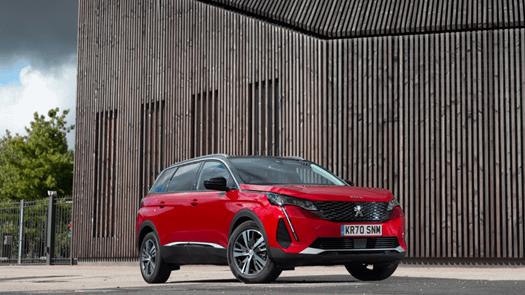 PEUGEOT celebrates double win at Company Car Today CCT100 Awards 2021