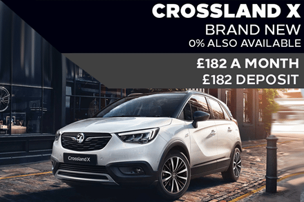 Brand New Vauxhall Crossland X Griffin - £182 A Month | £182 Deposit