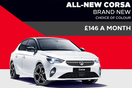All-New Vauxhall Corsa - £146 A Month | 9 Upfront Payments - PCH