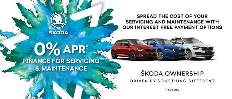 0% APR* Finance For Servicing & Maintenance