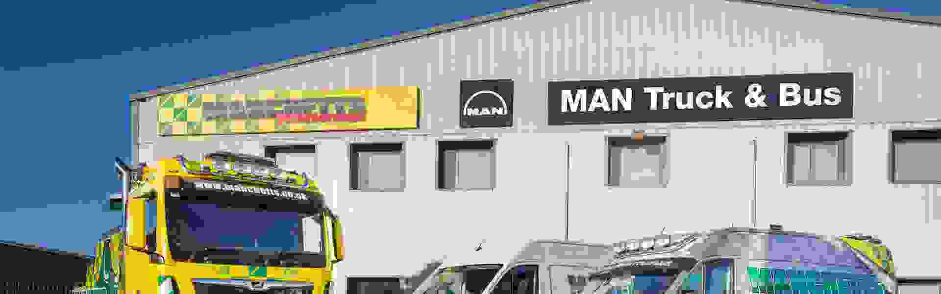 MAN Truck & Bus UK Ltd appoints Manchetts Group in Peterborough