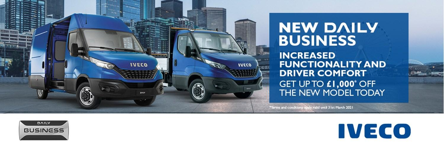 IVECO Daily Business Edition Offer