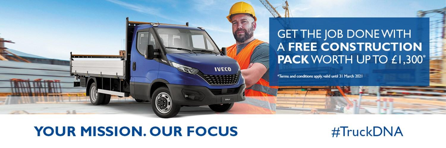 IVECO Daily Construction Packs