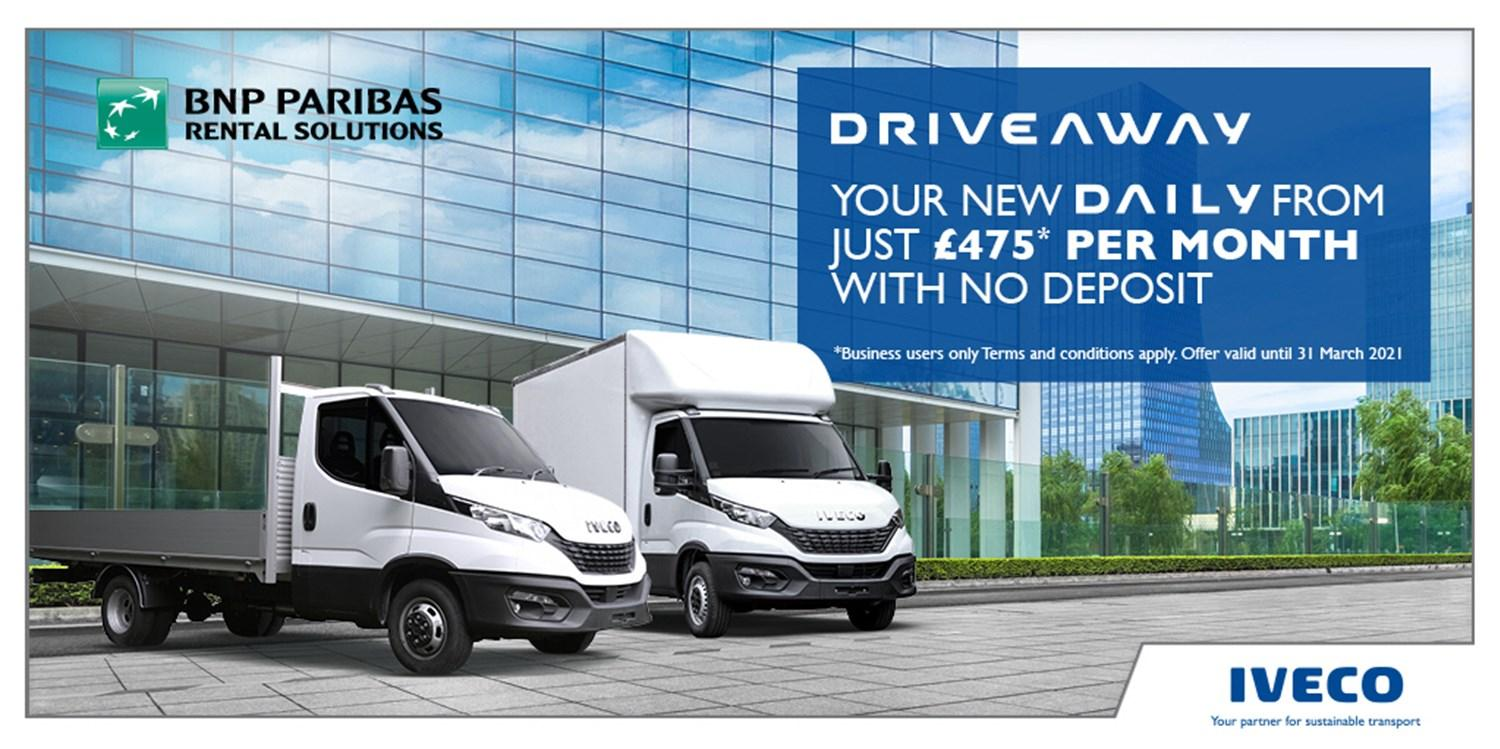 Daily DriveAway 2021 offer
