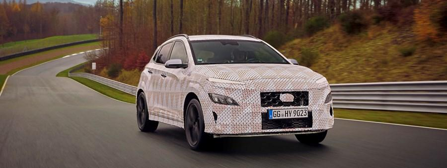A 'hot SUV', the all-new KONA N, joins the N family