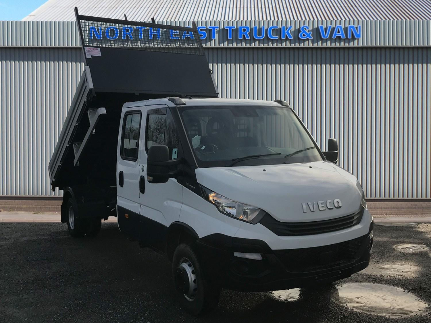 IVECO Daily Crew Cab Tipper