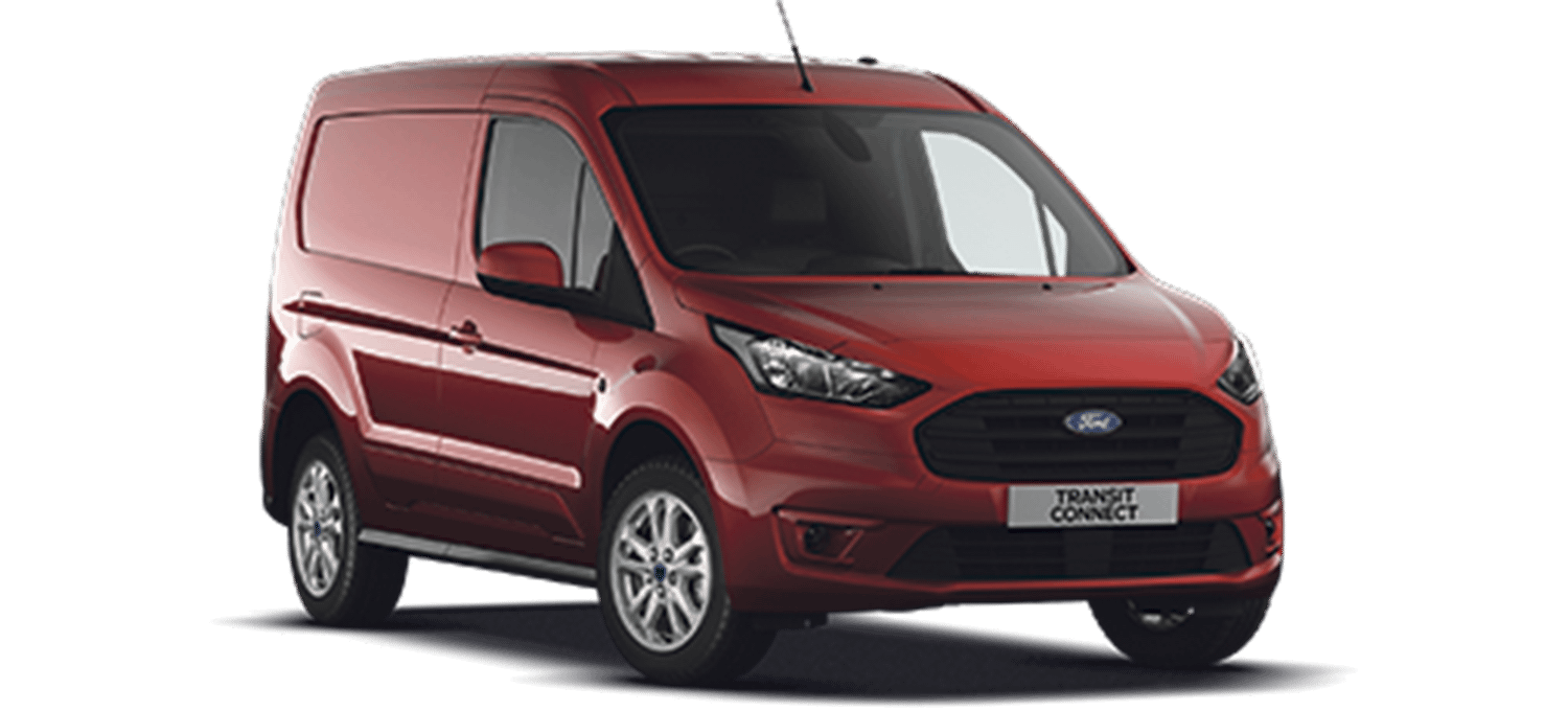 Ford Transit Connect Limited Carmine Red