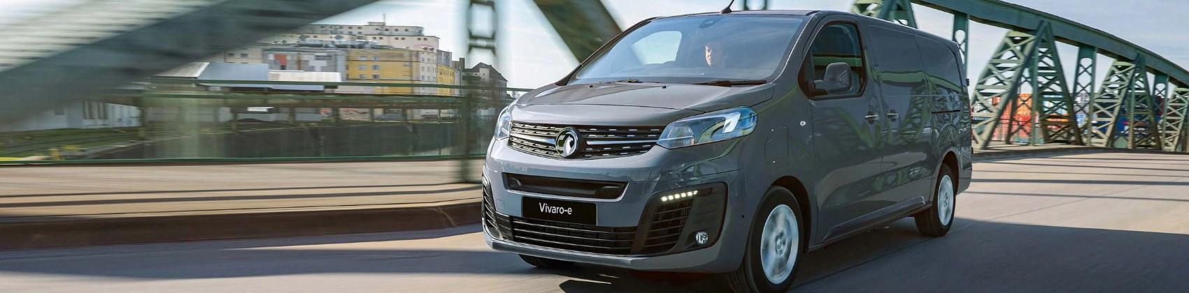 The new all-electric Vauxhall Vivaro-e
