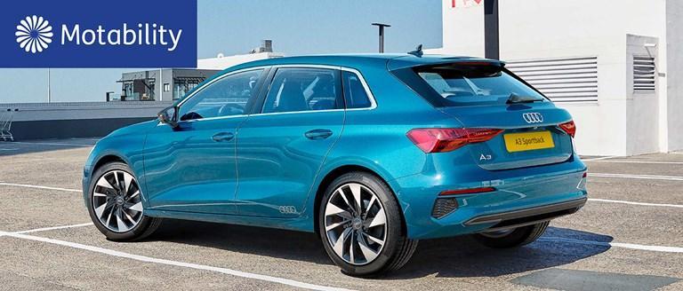 Audi A3 Sportback Motability Offers