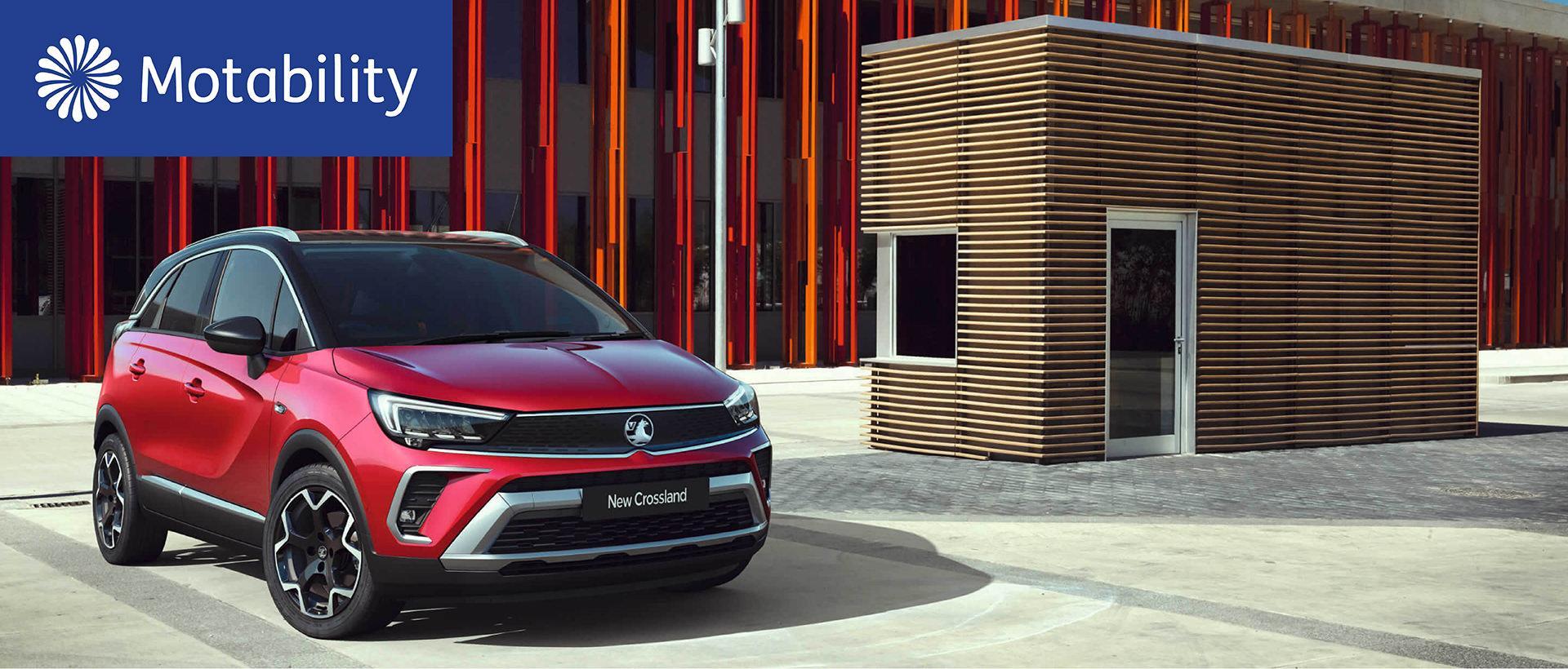 Vauxhall Crossland Motability Offers