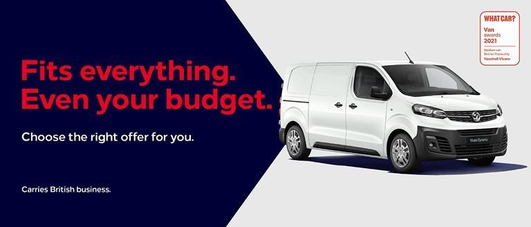 Vauxhall Vivaro Offer