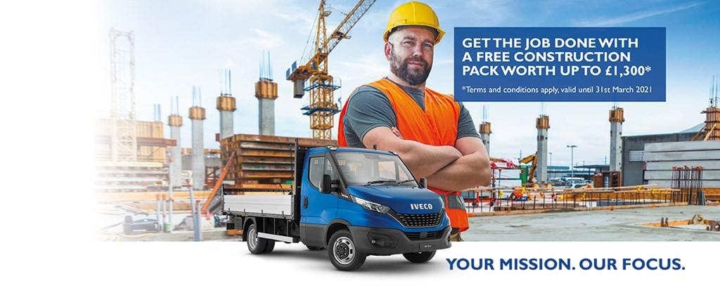 Get the job done with a free construction pack