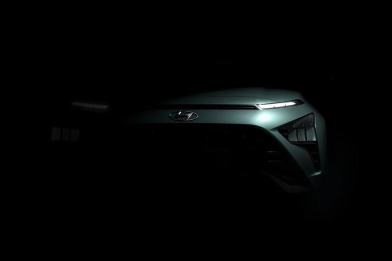 Hyundai Motor teases distinctive design of all-new crossover SUV Bayon