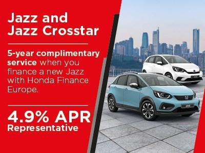 Honda Jazz offers