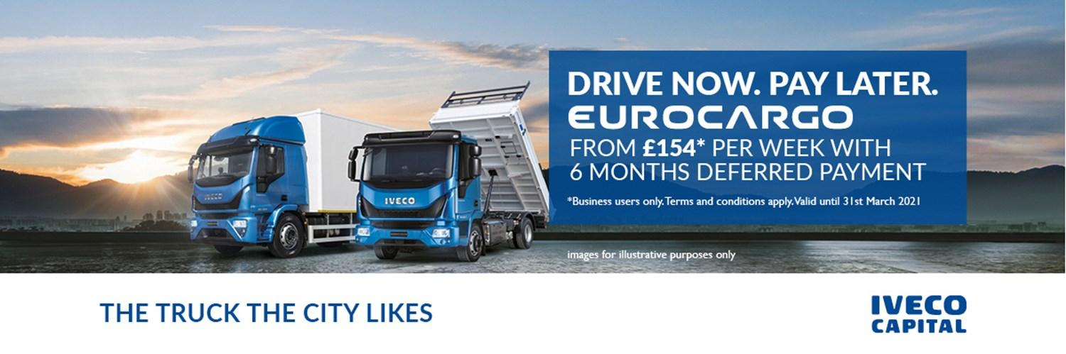 IVECO Eurocargo £154 deferred payments