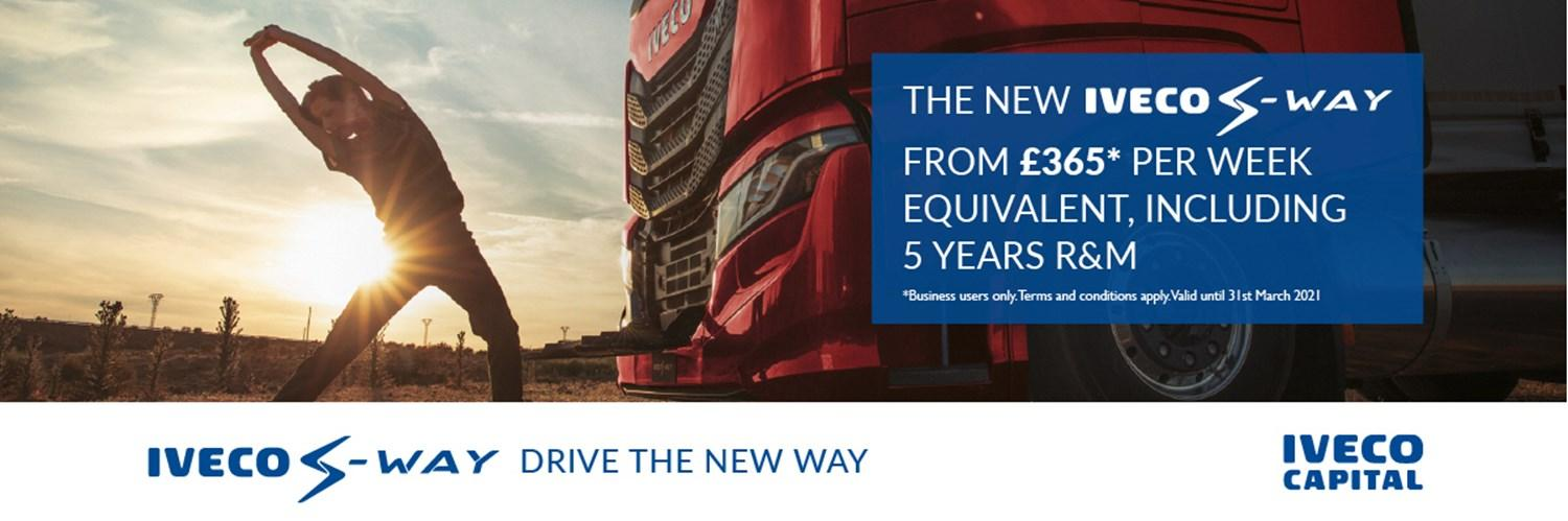 IVECO S-WAY £365 offer