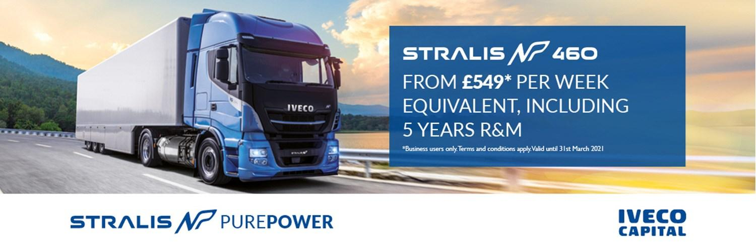 IVECO Stralis NP - £549 a week