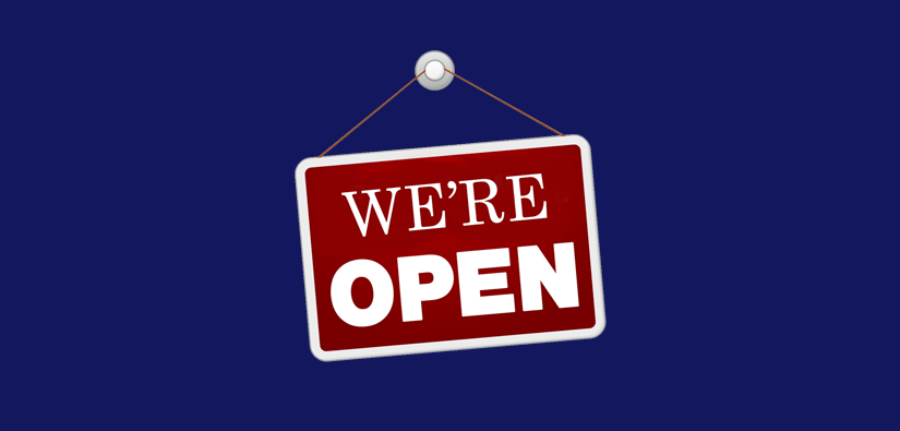 Our showrooms are open!