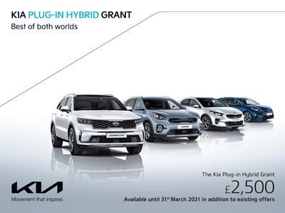 The Kia Plug-In Hybrid Grant