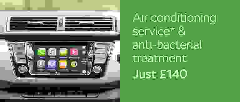 Air Con Service & Anti Bac Treatment