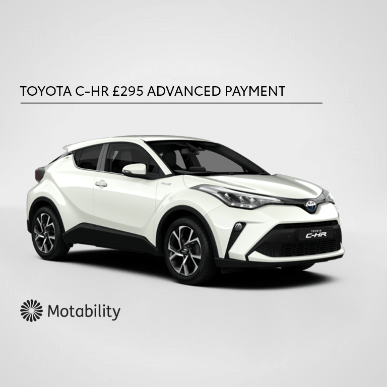 Toyota C-HR Motability Offer