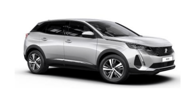 New Peugeot 3008 SUV at Sherwoods