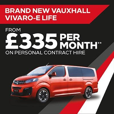 New Vivaro-e Life Offer