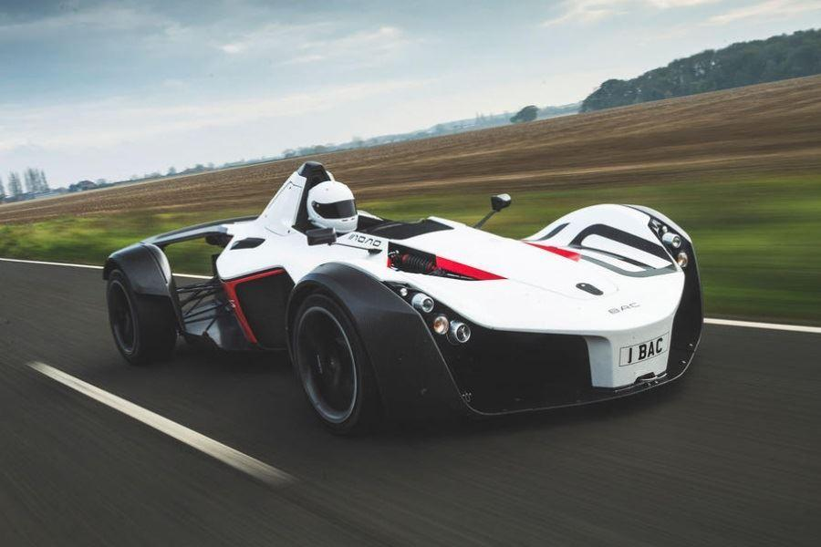 BAC on racing track