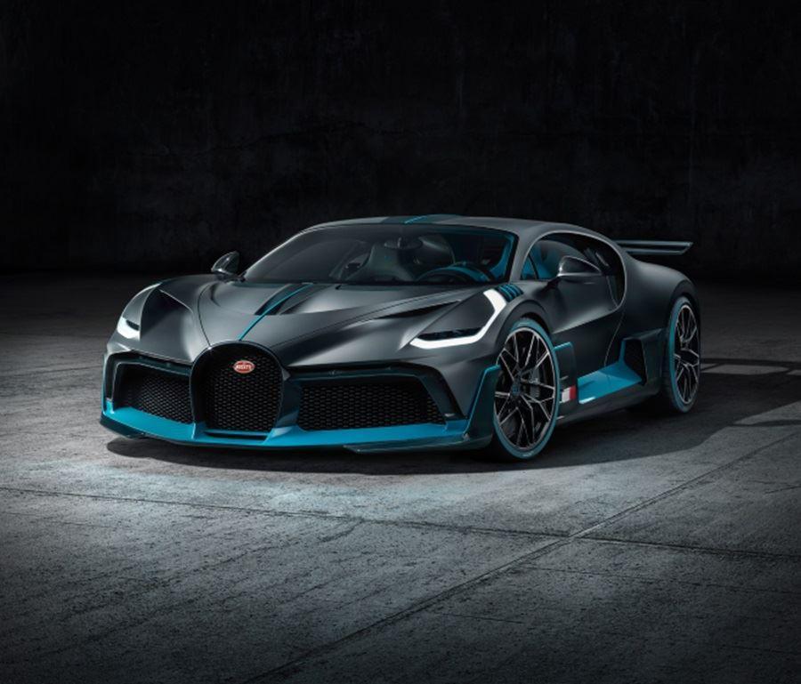 front of bugatti