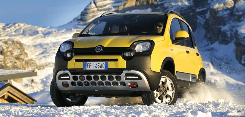 Fiat Panda Cross Wins Award