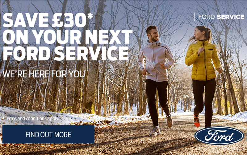 Save £30 off your next Ford service!