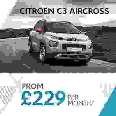 New C3 Aircross SUV Offer