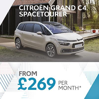 New Grand C4 SpaceTourer Offer