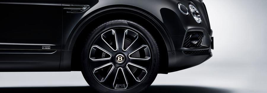 wheel of bentley bentayga design series