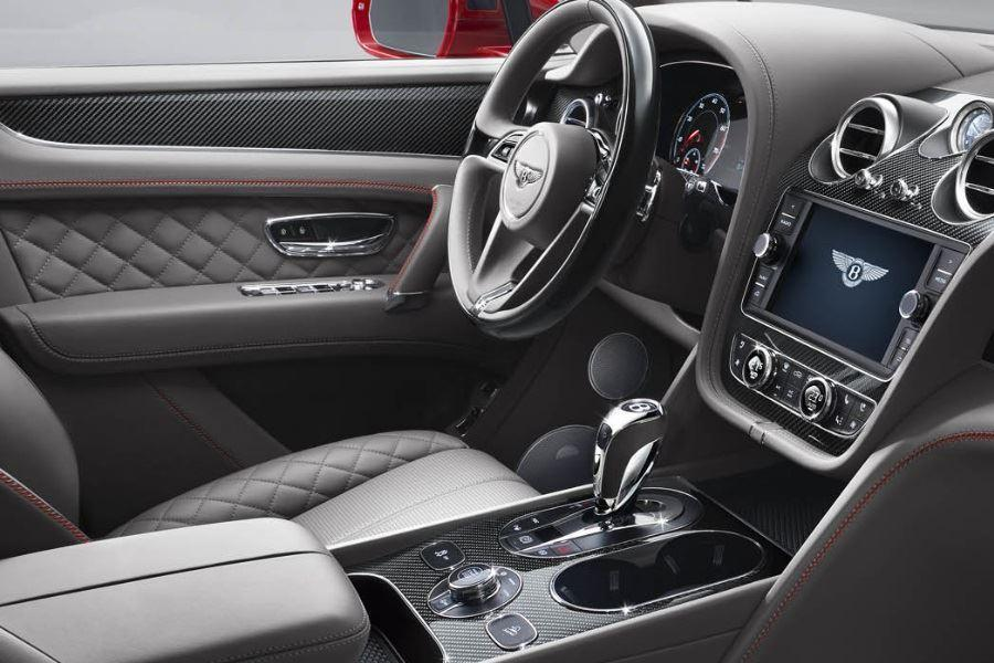 inside bentley bentayga v8