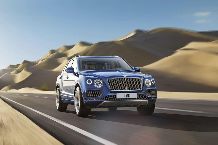 front of bentley bentayga