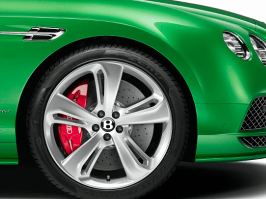 wheel of bentley continental gt speed