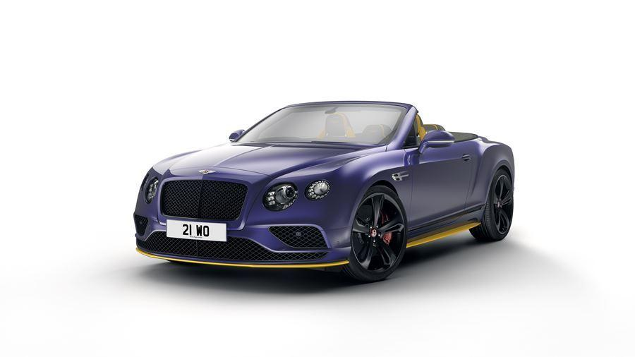 front of bentley continental gt v8s black edition