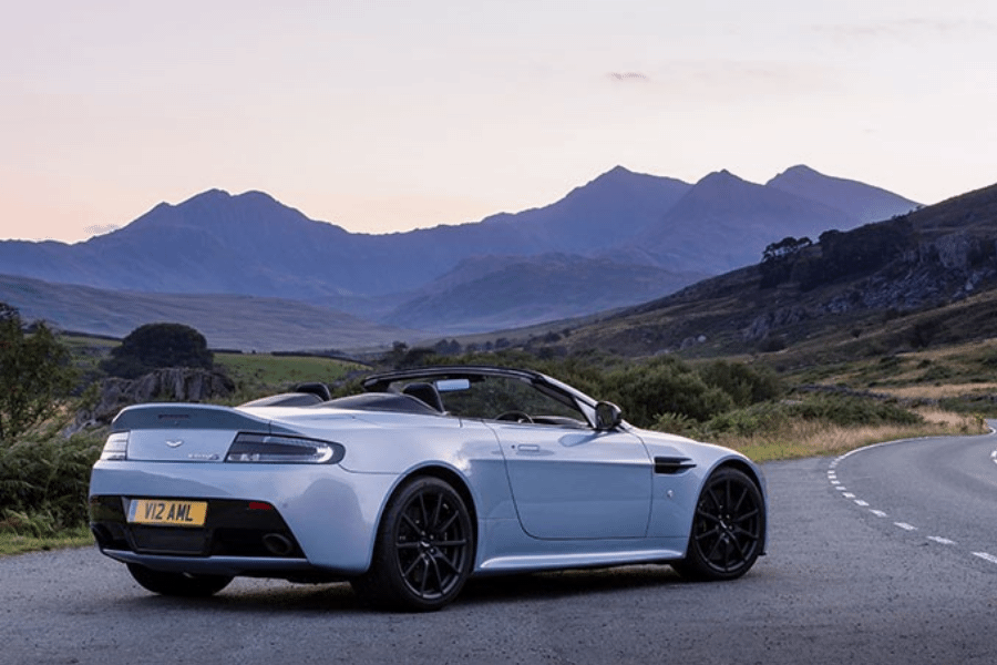 side of aston martin v12 vantage s roadster
