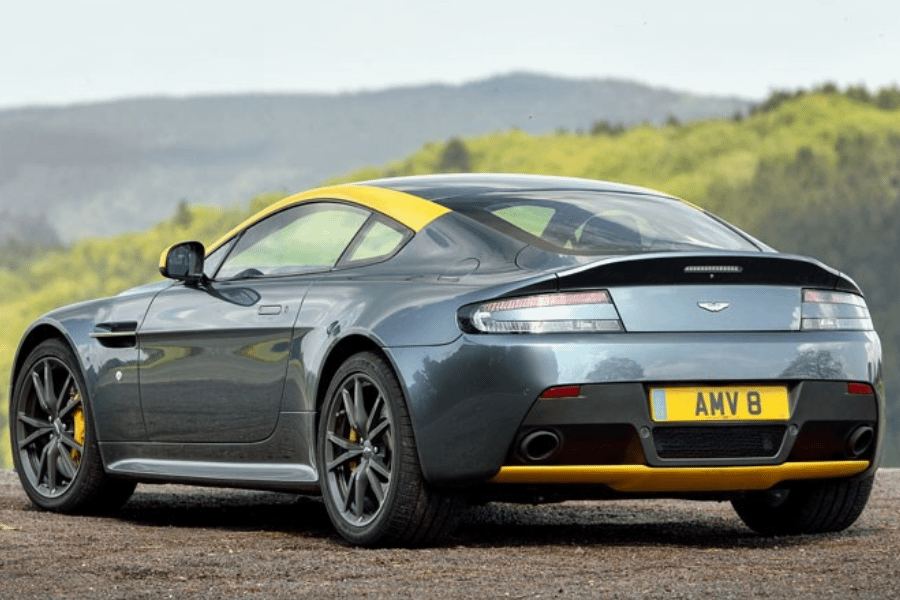 back of aston martin n430