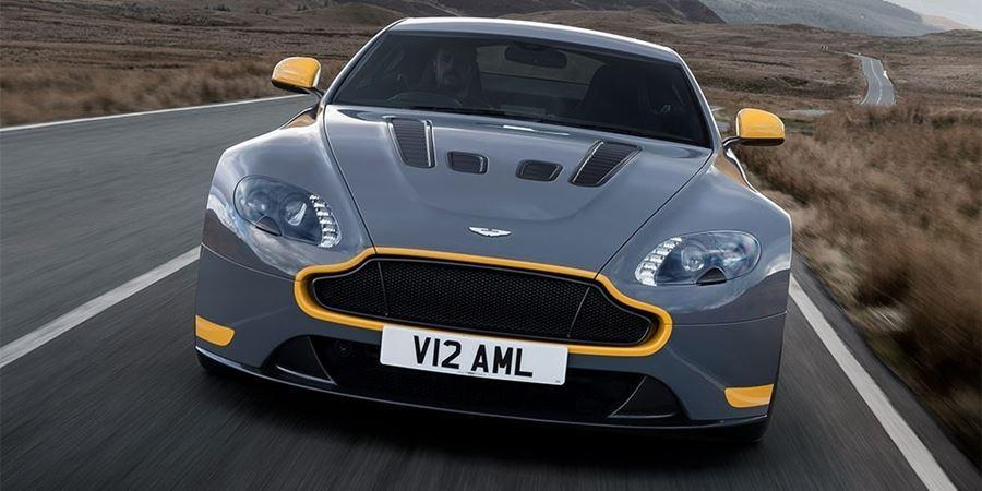 front of aston martin amr performance