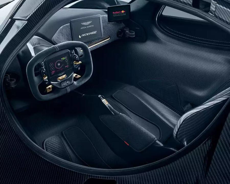 inside of aston martin