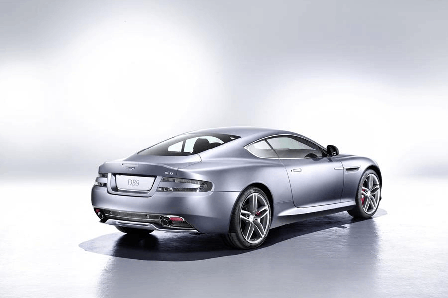 back of aston martin db9 coupe
