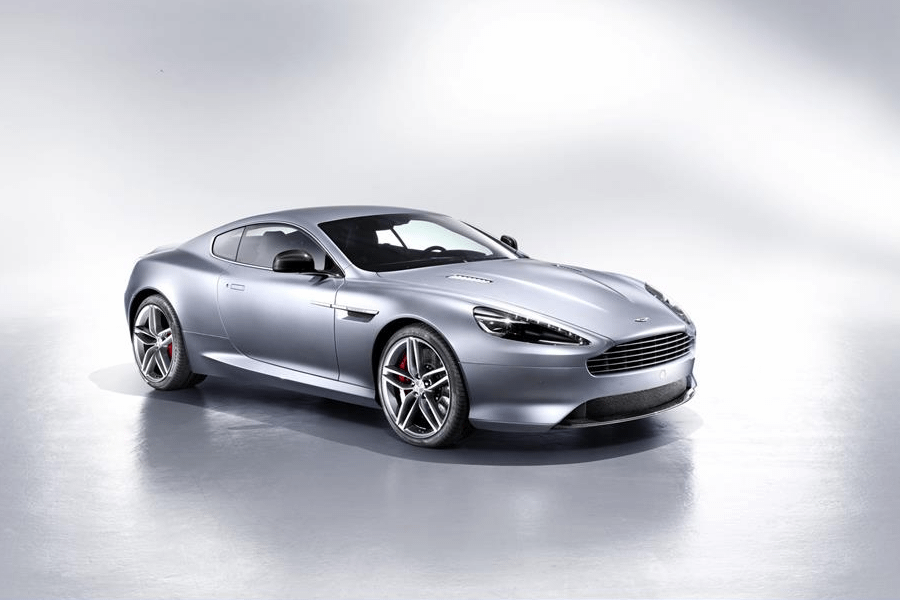 side of aston martin db9 coupe